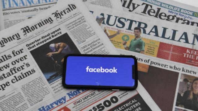 Facebook bo lẹnh cam cac trang tin o Uc