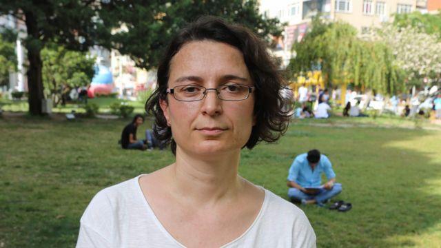Derya Keskin, a sociology professor