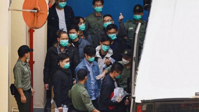 47名民主派人士被指控犯