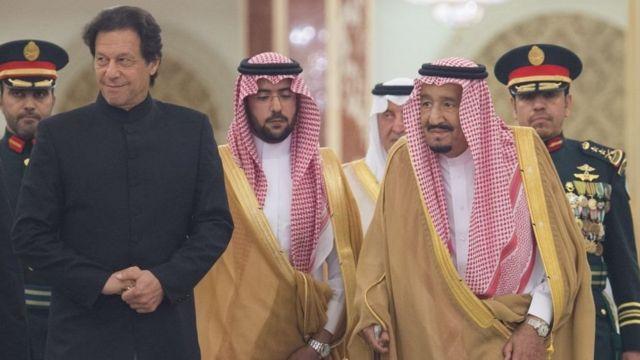 رئيس وزراء باكستان عمران خان إلى السعودية ولقائه بالملك سلمان بن عبد العزيز
