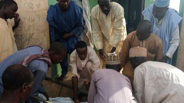Onye merụrụ ahụ na mwakpo ọzọ mere na Borno steeti