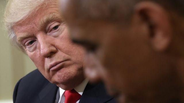 トランプ氏はロシア疑惑捜査はオバマ前政権に焦点を当てるべきだと