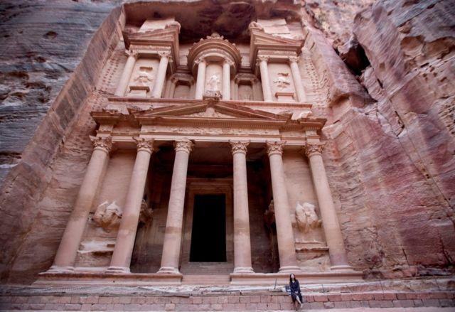Mulher em Petra