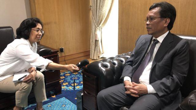 Ketua Menteri Sabah, Datuk Seri Mohd Shafie Apdal, Malaysia, tki