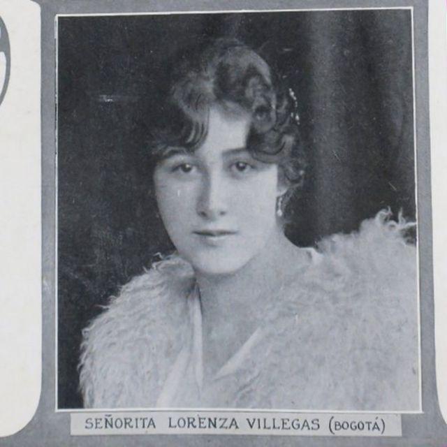 Retrato de Lorenza Villegas.
