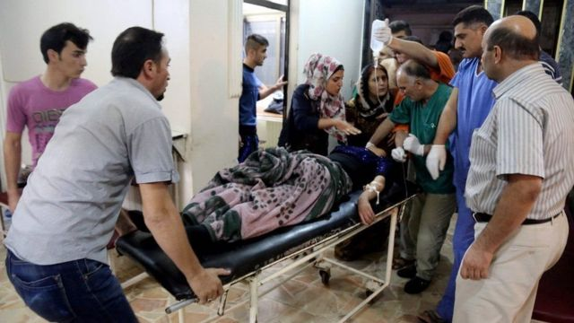 More than 90 people were wounded in the bomb attack, many of them seriously