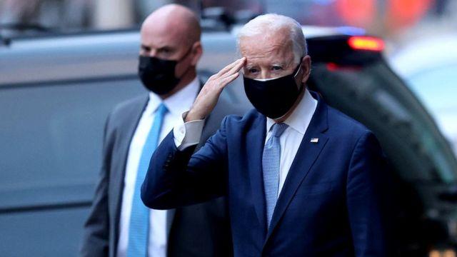 Joe Biden, gewählter Präsident der Vereinigten Staaten.
