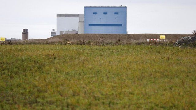 Hinkley Point A and B nuclear power stations