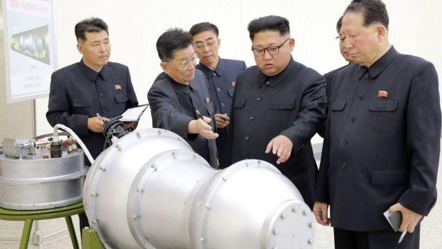 """کیم و """"بمب هیدروژنی"""""""