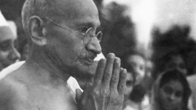 Retratdo de Gandhi