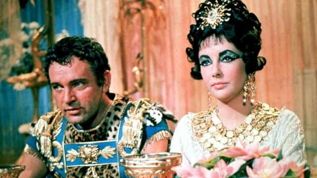 Elizabeth Taylor famously played Cleopatra in a 1963 production