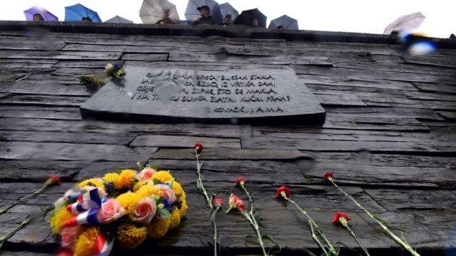 Campo de extermínio nazista na Croácia