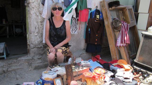 Əvvəllər bazarda daha çox rus satıcı var idi