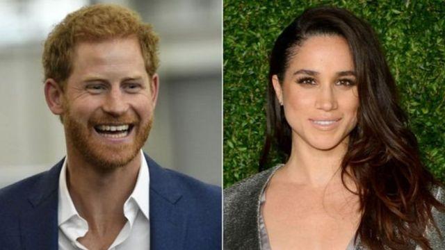 36-летняя Меган Маркл и 32-летний принц Гарри