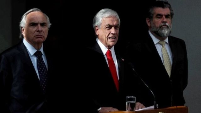 Piñera en conferencia de prensa