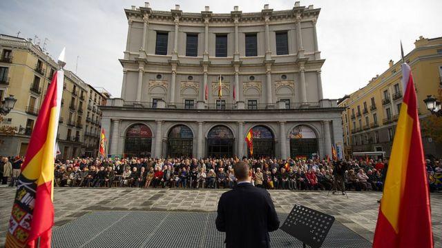 Los partidarios de Franco siguen reuniéndose cada año para conmemorar su muerte.