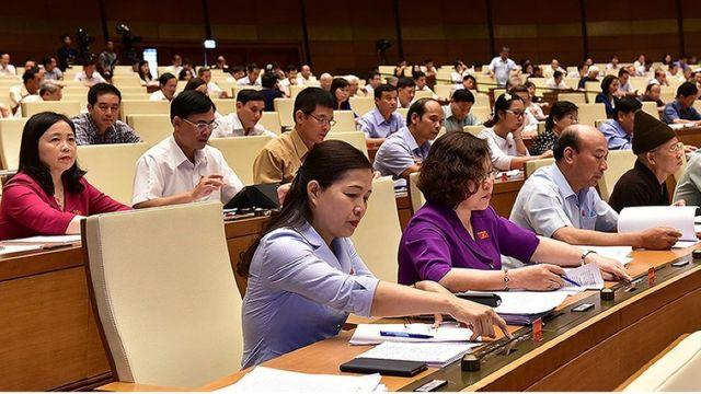Các đại biểu Quốc hội Việt Nam