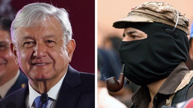 AMLO y el subcomandante Marcos