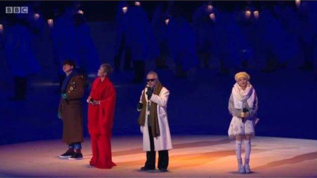 韓国の人気歌手4人がジョン・レノンの「イマジン」を歌った