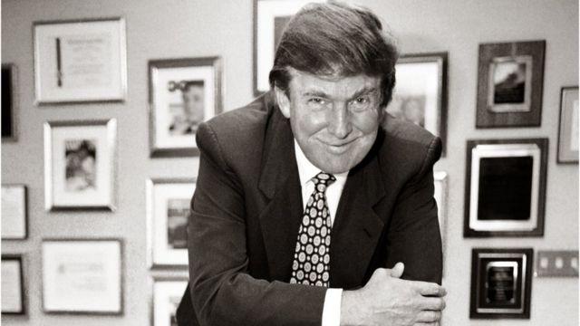 Donald Trump en la Trump Tower