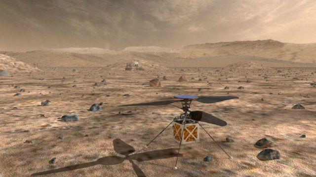 Vehículo sobre Marte