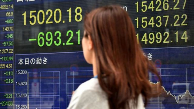 日本の株式市場は過去2年間の上昇分をほぼ失った