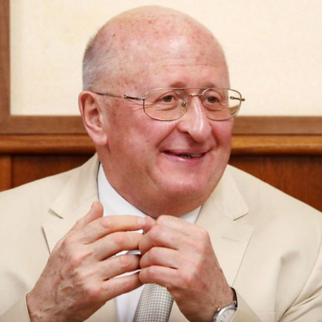 Alexander Gintsburg, director del Instituto Gamaleya.