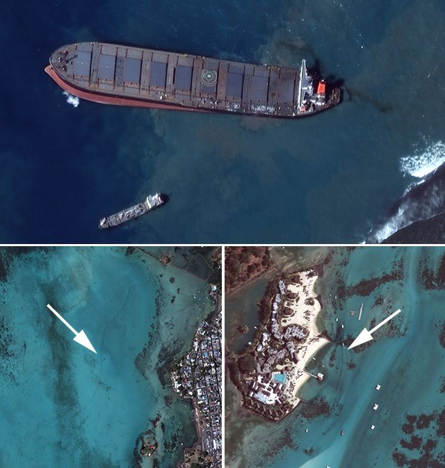 12 August satellite imagery