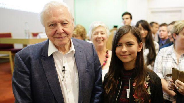 David Attenborough dan Mya-Rose Craig
