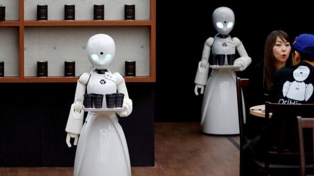 日本机器人服务生