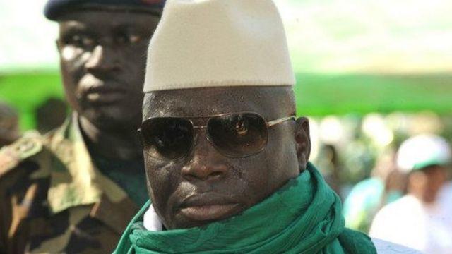 Yahya Jammeh fait face, pour la première fois à un candidat unique de l'opposition