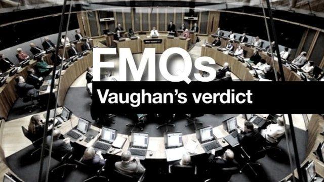 FMQs Vaughan's verdict