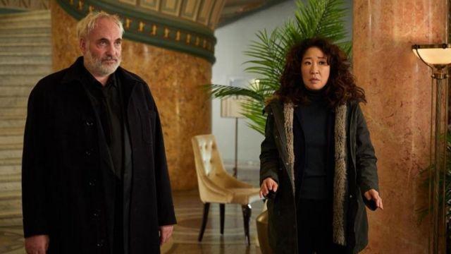 Sandra Oh y David Haig
