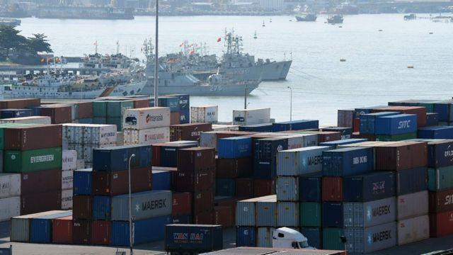 Cảng ở Đà Nẵng