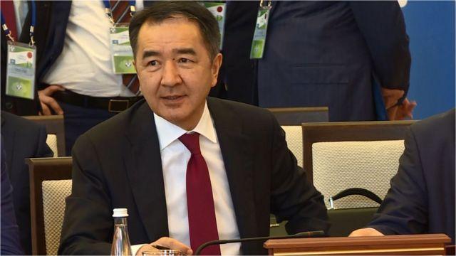 Казак өкмөт башчысы Бакытжан Сагинтаев Кыргызстандын айыптоолорун четке какты