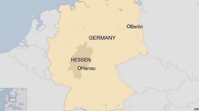 जर्मनी गोलीबारी