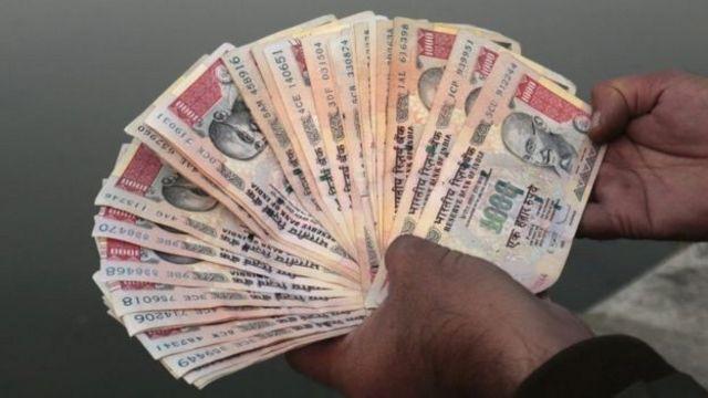भारत की नोट बंदी का विदेशों में असर