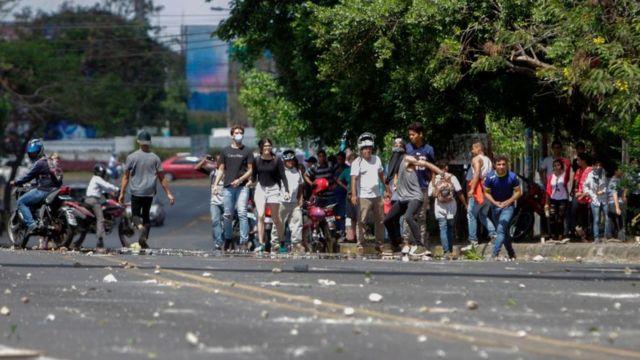 Protestas en Nicaragüa