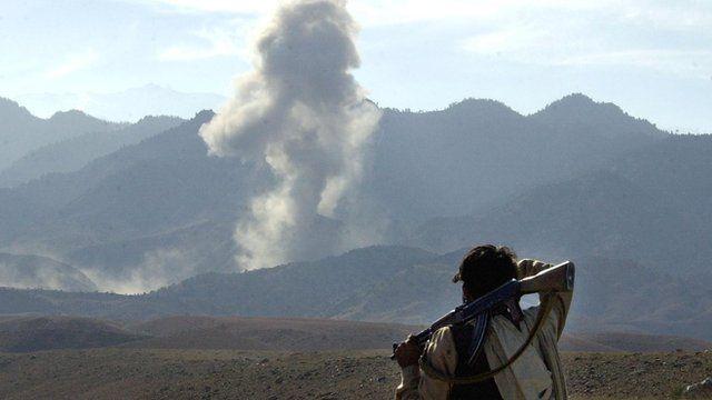 US attack on Tora Bora, Afghanistan