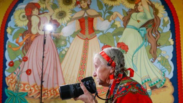 бабушка и искусство