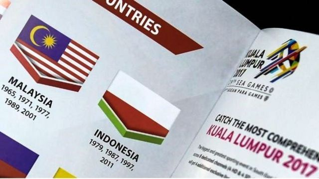 အင်ဒိုနီးရှားအလံကို ဇောက်ထိုး ပုံနှိပ်ခဲ့လို့ မလေးရှား အာဏာပိုင်တွေ တောင်းပန်ခဲ့ရပြီးဖြစ်