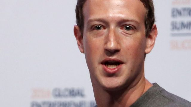 Mark Zuckerberg said fake news was shared by both sides of the debate in the US election