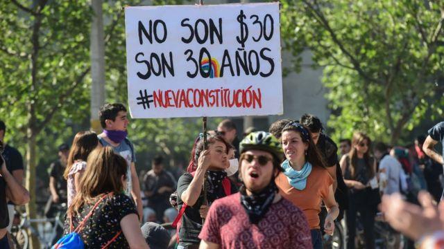 chile protestas