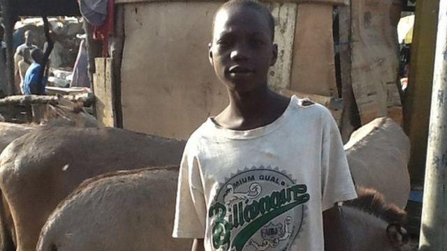 Wani almajiri a Nijeriya