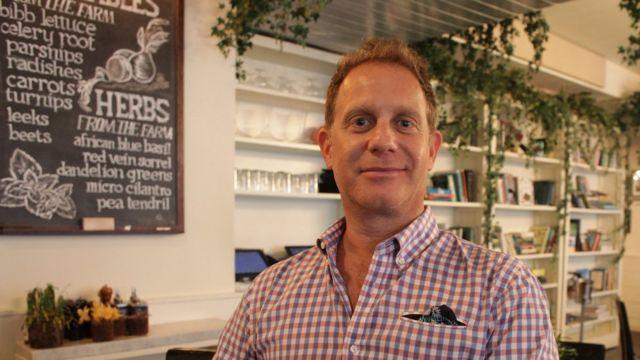 Michael Schatzberg, the co-founder of a US restaurant group