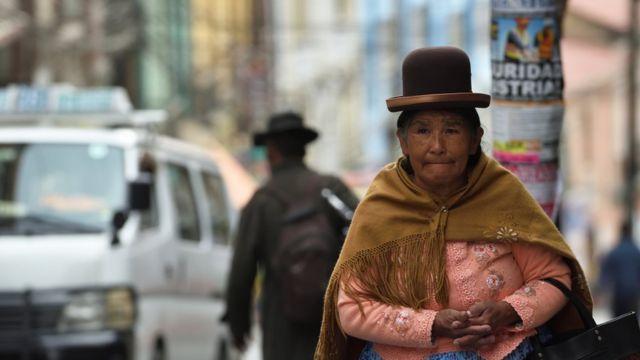 Senhora boliviana