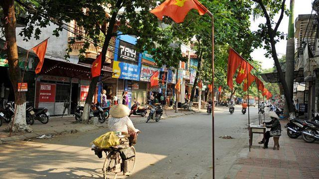 Một góc thành phố Điện Biên Phủ