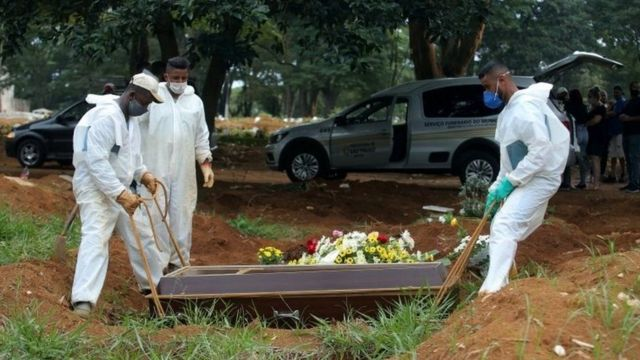 Погребение в Бразилии
