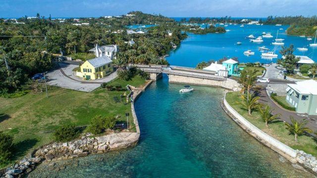 El puente Somerset en las Bermudas