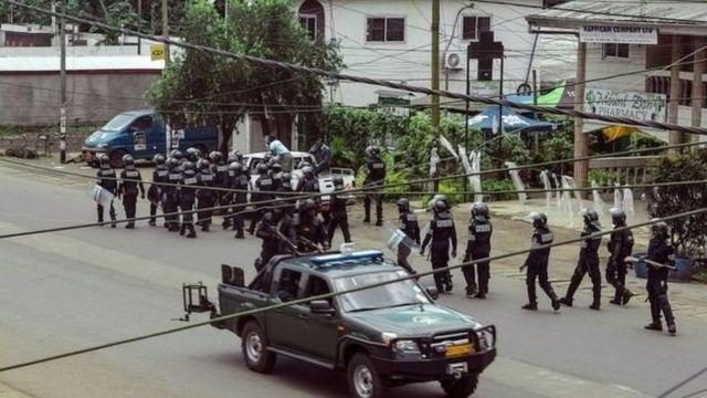 Cameroun, crise anglophone